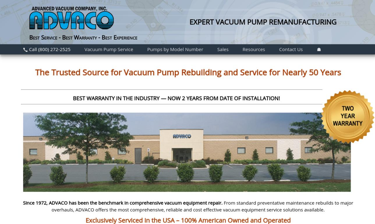 Advanced Vacuum Company, Inc.