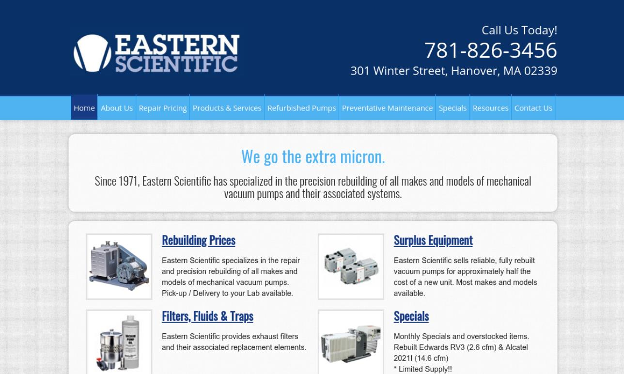 Eastern Scientific Sales & Service Co.