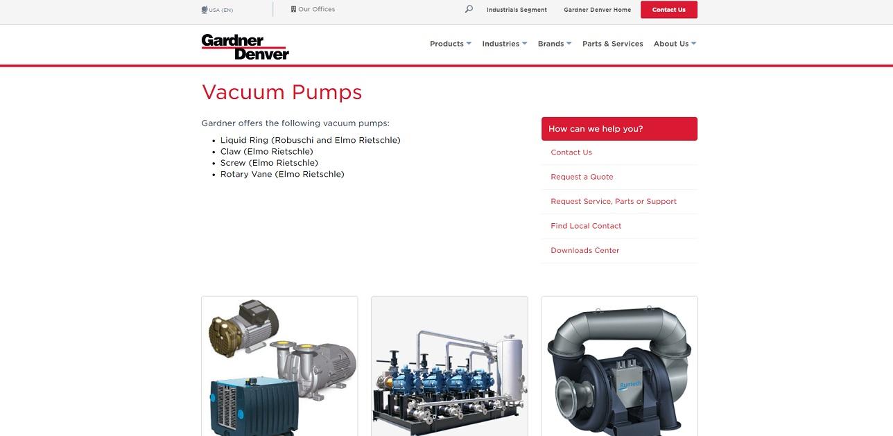 Vacuum Pump Manufacturers   Vacuum Pump Suppliers
