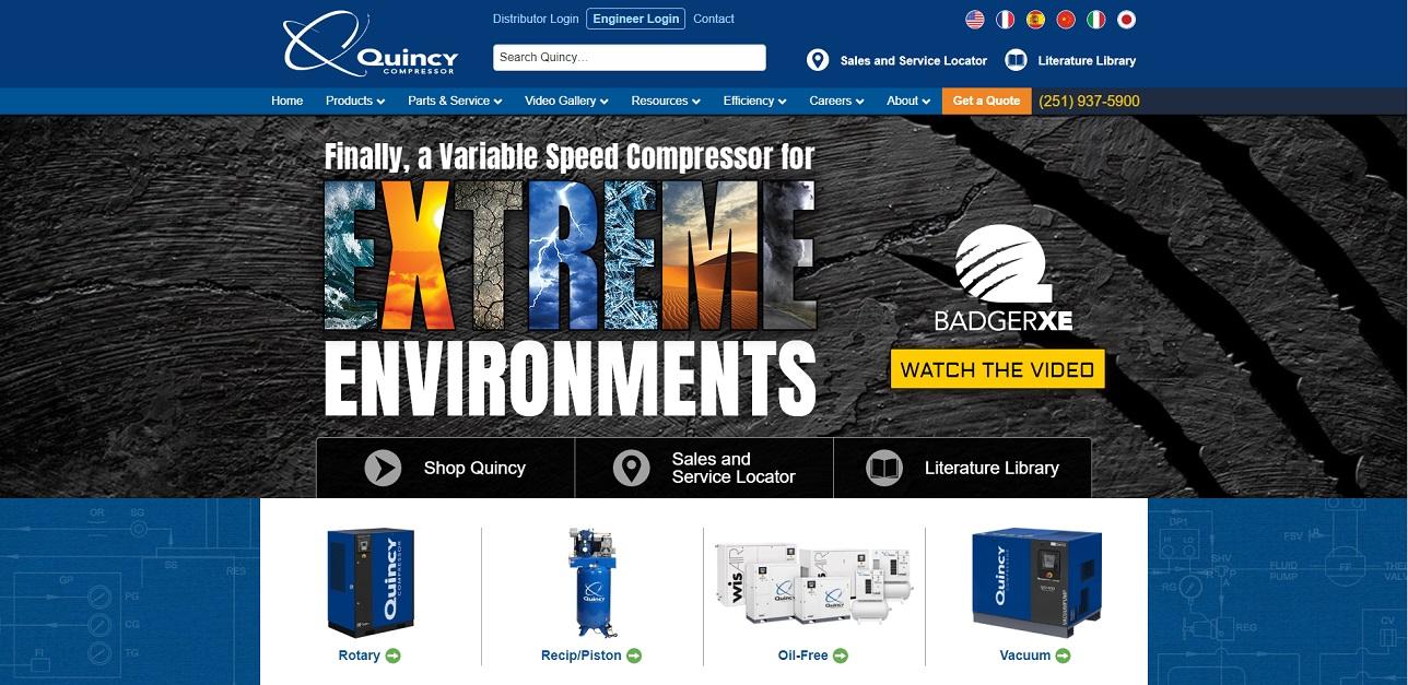 Quincy Compressor, Inc.