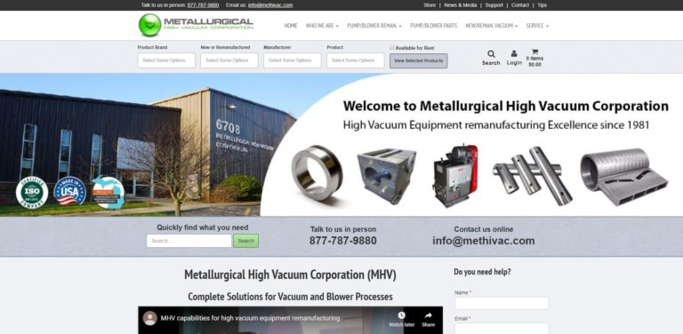 Metallurgical High Vacuum Corporation