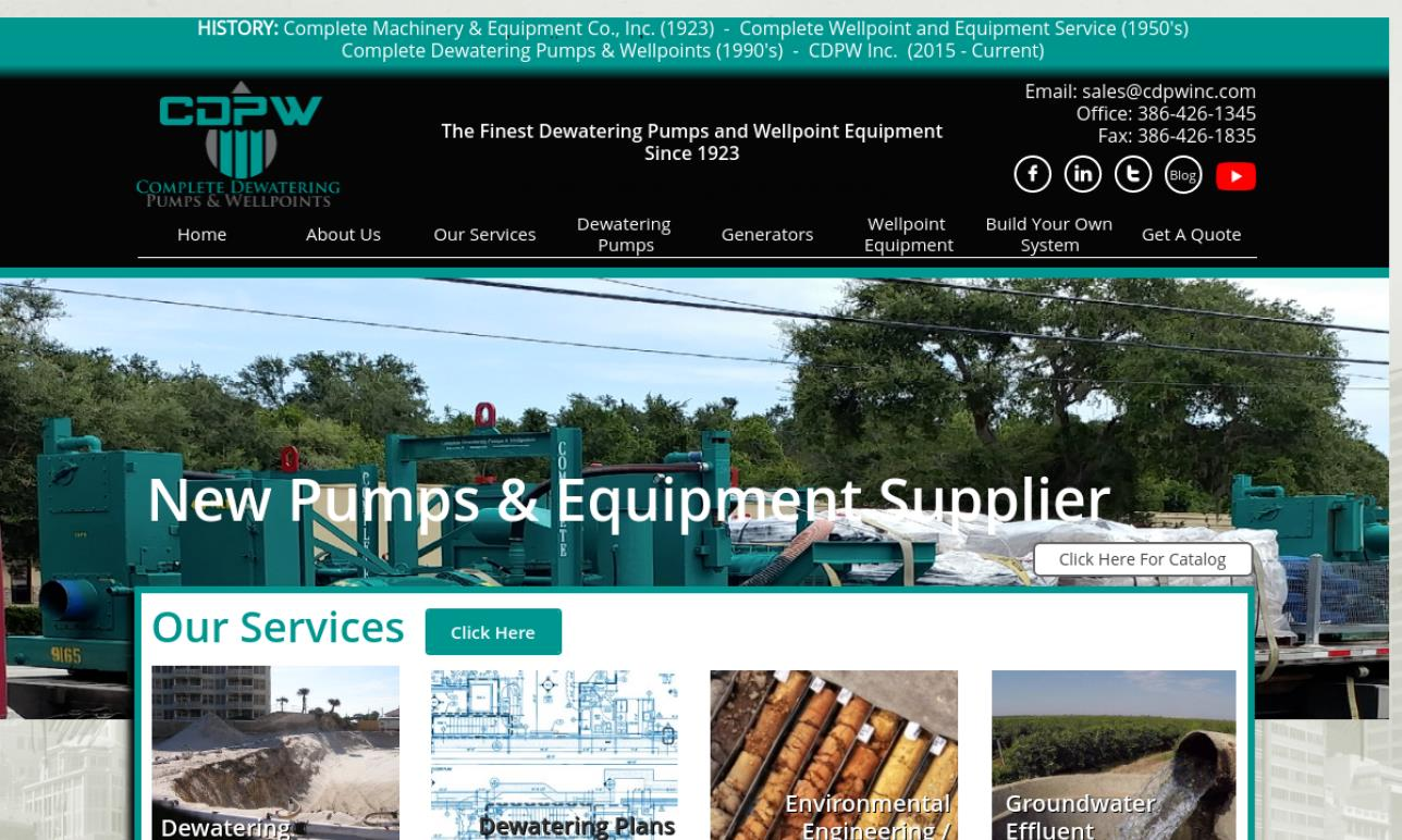 Complete Dewatering Pumps & Wellpoints, Inc.