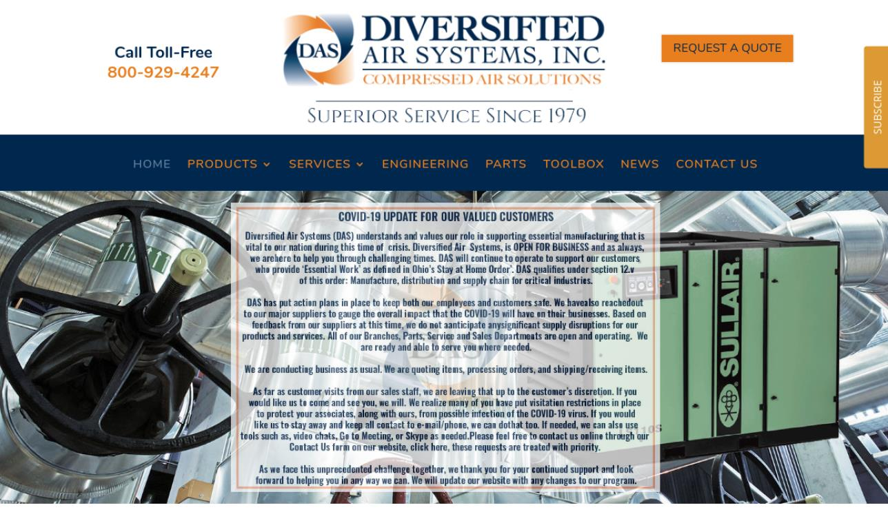 Diversified Air Systems, Inc.