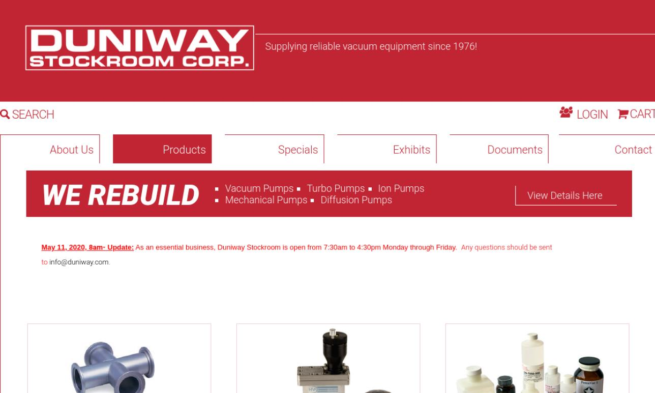 Duniway Stockroom Corp.